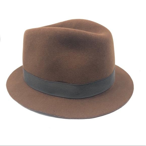 0fce9f1e goorin brothers Accessories | Vintage Fedora Wool Hat | Poshmark